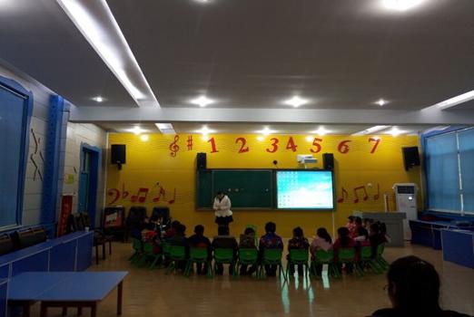黄陵幼儿园教师参加课堂技能大赛