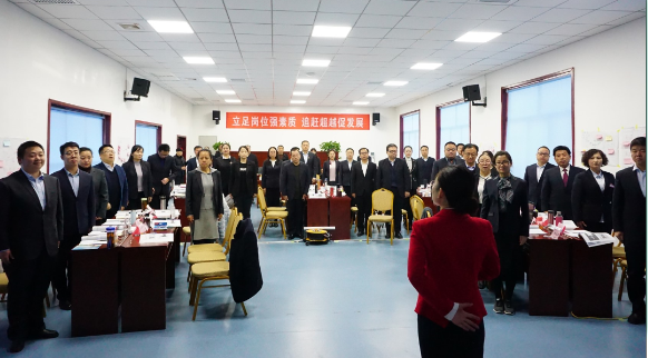 杨百锁对年轻干部提出新希望新要求
