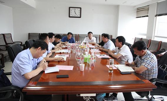 汉中市副市长屈占权一行到乐动体育官网集团走访座谈